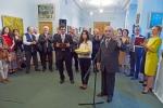 Церемония открытия Выставки. Осетинский обряд.